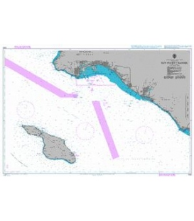 British Admiralty Nautical Chart 1063 San Pedro Channel