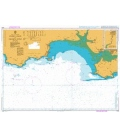 British Admiralty Nautical Chart 1076 Linney Head to Oxwich Point