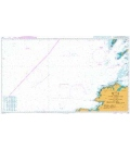 British Admiralty Nautical Chart 1127 Outer Approaches to the North Channel