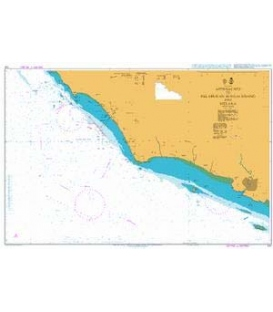 British Admiralty Nautical Chart 1141 Approaches to Pelabuhan Sungai Udang and Melaka
