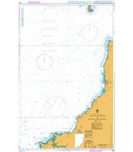 British Admiralty Nautical Chart 1156 Trevose Head to Hartland Point