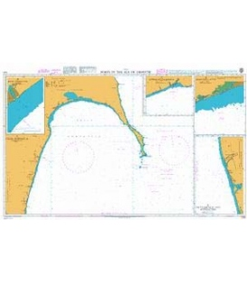 British Admiralty Nautical Chart 1230 Ports in the Sea of Okhotsk