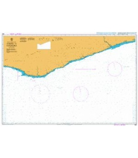 British Admiralty Nautical Chart 1362 Harper to Sassandra