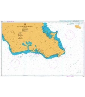 British Admiralty Nautical Chart 1378 Southern Part of Oahu