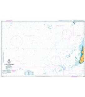 British Admiralty Nautical Chart 1770 Islay to Stanton Banks