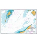 British Admiralty Nautical Chart 1796 Barra Head to Point of Ardnamurchan