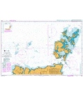 British Admiralty Nautical Chart 1954 Cape Wrath to Pentland Firth including The Orkney Islands