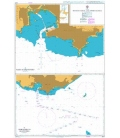British Admiralty Nautical Chart 2001 Montevideo and Approaches