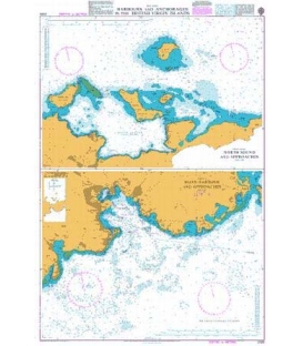 British Admiralty Nautical Chart 2020 Harbours and Anchorages in the British Virgin Islands