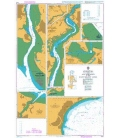 British Admiralty Nautical Chart 2022 Harbours and Anchorages in the East Solent Area