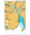 British Admiralty Nautical Chart 2046 Waterford Harbour