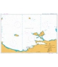 British Admiralty Nautical Chart 2191 Morro de Puerto Santo to Cabo Codera including the outlying islands