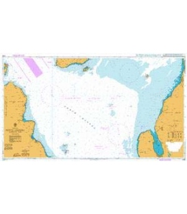 British Admiralty Nautical Chart 2199 North Channel Northern Part