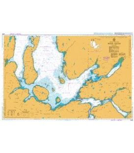 British Admiralty Nautical Chart 2209 Inner Sound