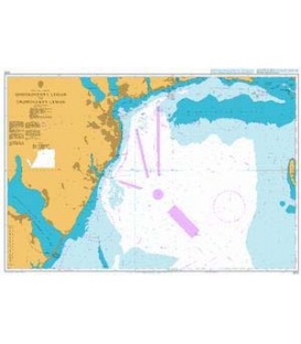 British Admiralty Nautical Chart 2212 Dnistrovs`kyy Lyman to Dniprovs`kyy Lyman