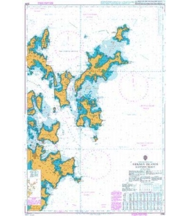 British Admiralty Nautical Chart 2250 Orkney Islands Eastern Sheet