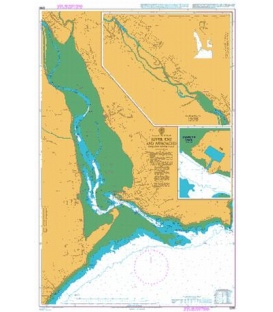 British Admiralty Nautical Chart 2290 River Exe and Approaches including Exeter Canal