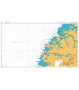 British Admiralty Nautical Chart 2305 Florø to Molde