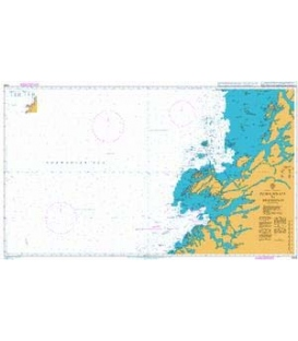 British Admiralty Nautical Chart 2308 Buholmrasa to Bremstein