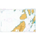 British Admiralty Nautical Chart 2343 Gulf of Corryvreckan and Approaches