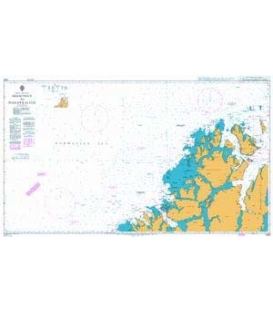 British Admiralty Nautical Chart 2367 Hekkingen To Fugloykalven