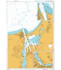 British Admiralty Nautical Chart 2370 Rostock