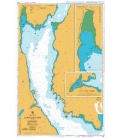 British Admiralty Nautical Chart 2381 Lower Loch Fyne