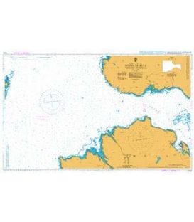 British Admiralty Nautical Chart 2392 Sound of Mull Western Entrance