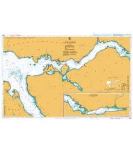 British Admiralty Nautical Chart 2394 Loch Sunart