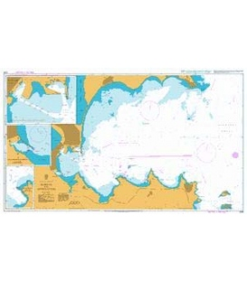 British Admiralty Nautical Chart 2399 Burgas and Approaches