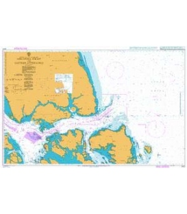 British Admiralty Nautical Chart 2403 Singapore Strait and Eastern Approaches