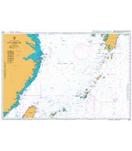 British Admiralty Nautical Chart 2412 East China Sea