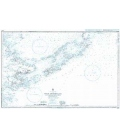 British Admiralty Nautical Chart 2576 Sulu Archipelago and the North East Coast of Borneo