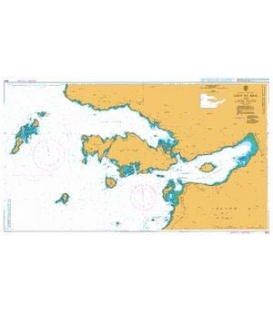British Admiralty Nautical Chart 2652 Loch Na Keal and Loch Tuath