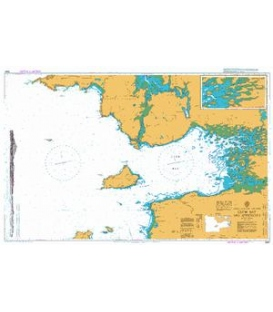 British Admiralty Nautical Chart 2667 Clew Bay and Approaches