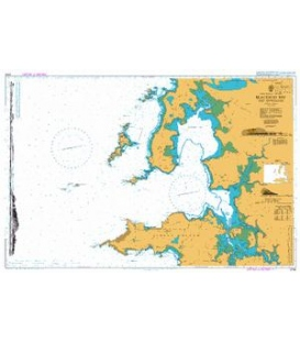 British Admiralty Nautical Chart 2704 Blacksod Bay and Approaches