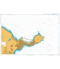 British Admiralty Nautical Chart 2742 Ceuta