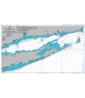 British Admiralty Nautical Chart 2754 Fire Island Inlet to Block Island Sound including Long Island Sound