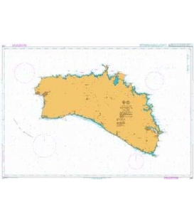 British Admiralty Nautical Chart 2761 Menorca