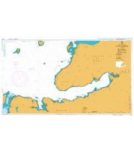 British Admiralty Nautical Chart 2771 Loch Scridain