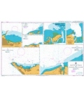 British Admiralty Nautical Chart 2799 Ports on the Coasts of Colombia and Ecuador