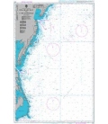 British Admiralty Nautical Chart 2861 Delaware Bay to Cape Hatteras