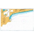 British Admiralty Nautical Chart 2896 Port Salalah and Approaches