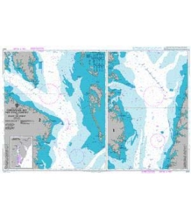 British Admiralty Nautical Chart 2920 Chesapeake Bay New Point Comfort to Point No Point