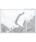 British Admiralty Nautical Chart 2962 Nordkapp to Ostrov Uyedinyeniya Island including the Barents and Kara Seas