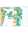 British Admiralty Nautical Chart 3040 Ports and Terminals on the East Coast of Kalimantan