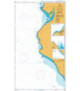 British Admiralty Nautical Chart 3092 Salaverry to Bahia de Santa Elena
