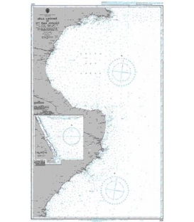 British Admiralty Nautical Chart 3106 Isla Leones to Puerto San Julian