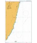 British Admiralty Nautical Chart 3234 T'ai-Tung Kang to Hua-Lien Kang