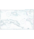 British Admiralty Nautical Chart 3242 Eastern Portion of Seram Sea